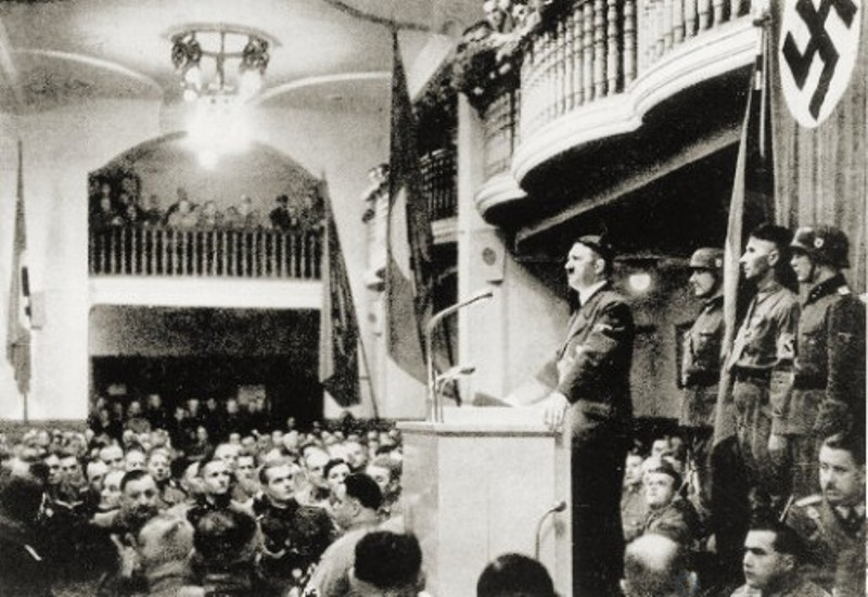 german revolution speach by adolf hitler Adolf hitler, appeal to the german people this speech effectively marked the start of the election germany, since the day the revolution broke out.